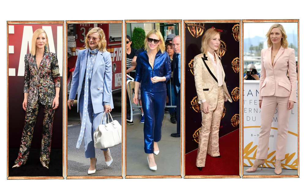 Cate Blanchett and her suits (not at the Emmy's)