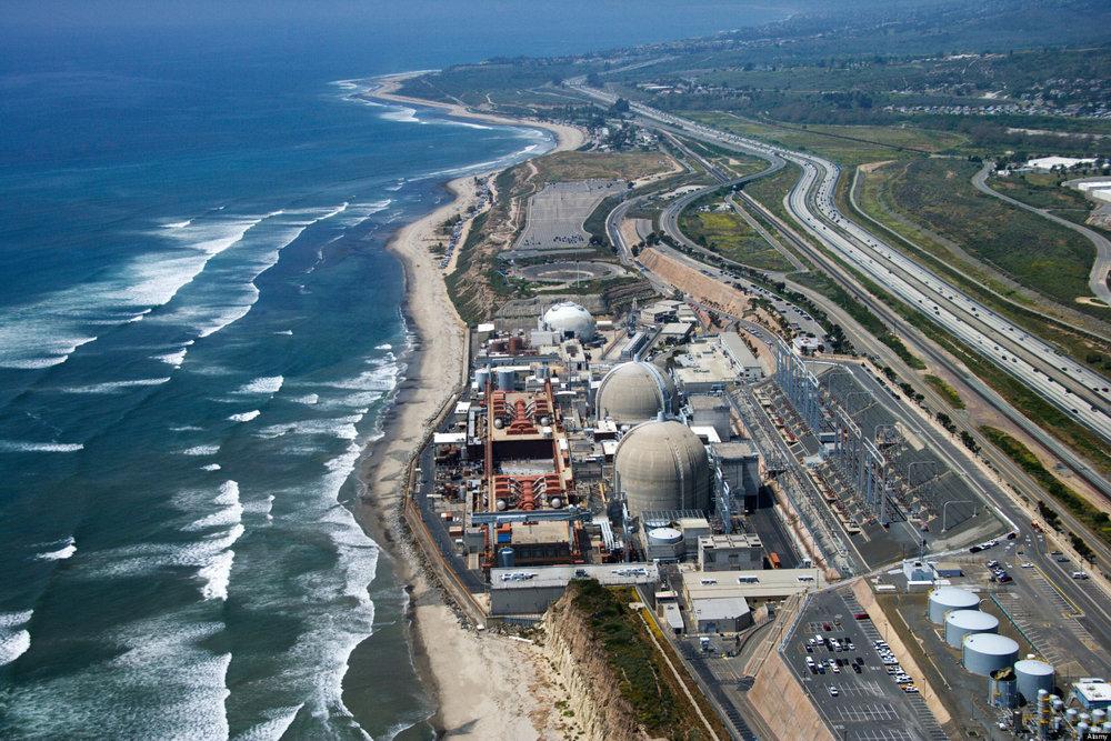 The beautiful California coast... with a nuclear waste dump.