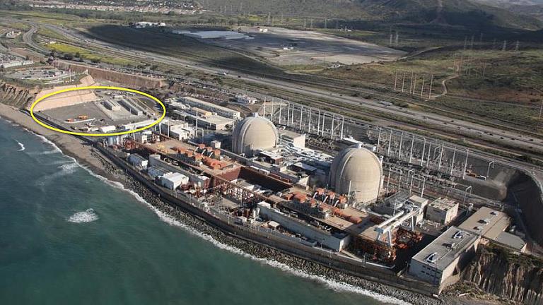 The nuclear waste dump.