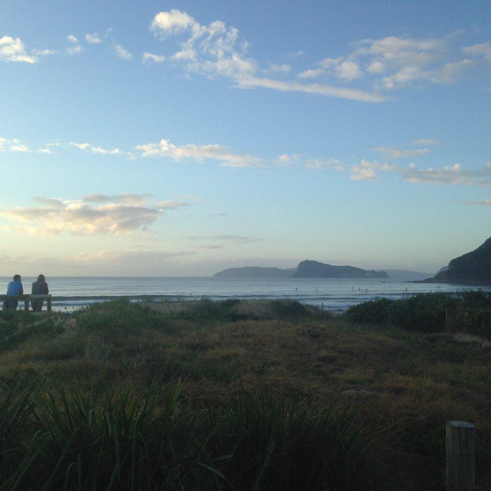 Sunrise at Broken Bay, Umina Beach 2257