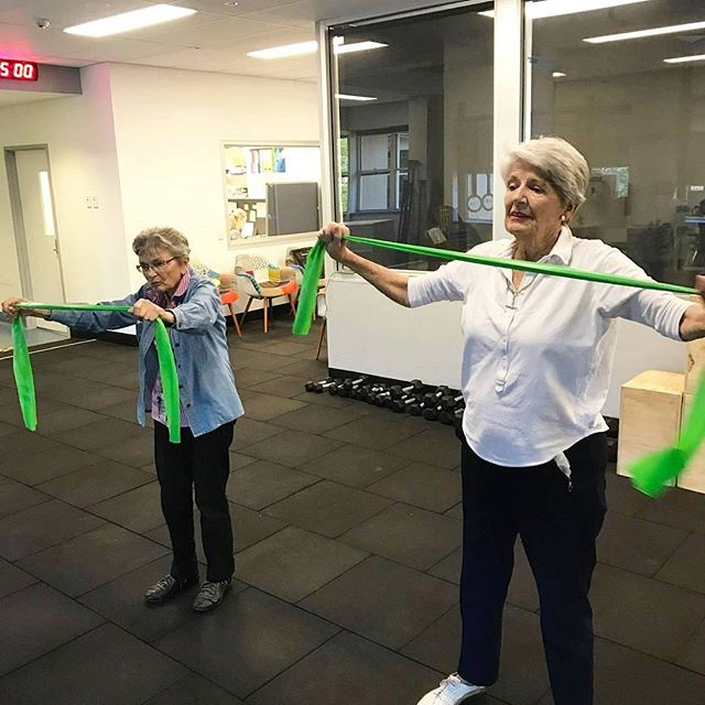 Rosalie and Marjorie reaping the rewards of NeuroHAB Functional Movement Therapy.  And proving regaining proficient movement is attainable no matter the age.  #functionaltraining#youngatheart#keepactive#movementtherapy#brisbane#ageisjustanumber#livefit#neurosurgeon#workout#reactivate#function#excercise#passion#healthy#lifestyle#fitnessmotivation#keepactive#live#life#movement#coaching#teamworkout#strength#goodform#preventinjury#healthylifestyle#liftwieghts#therapy