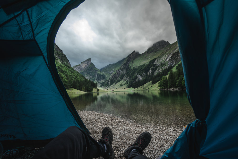 Morning view at Seealpsee - Switzerland ©drcapture