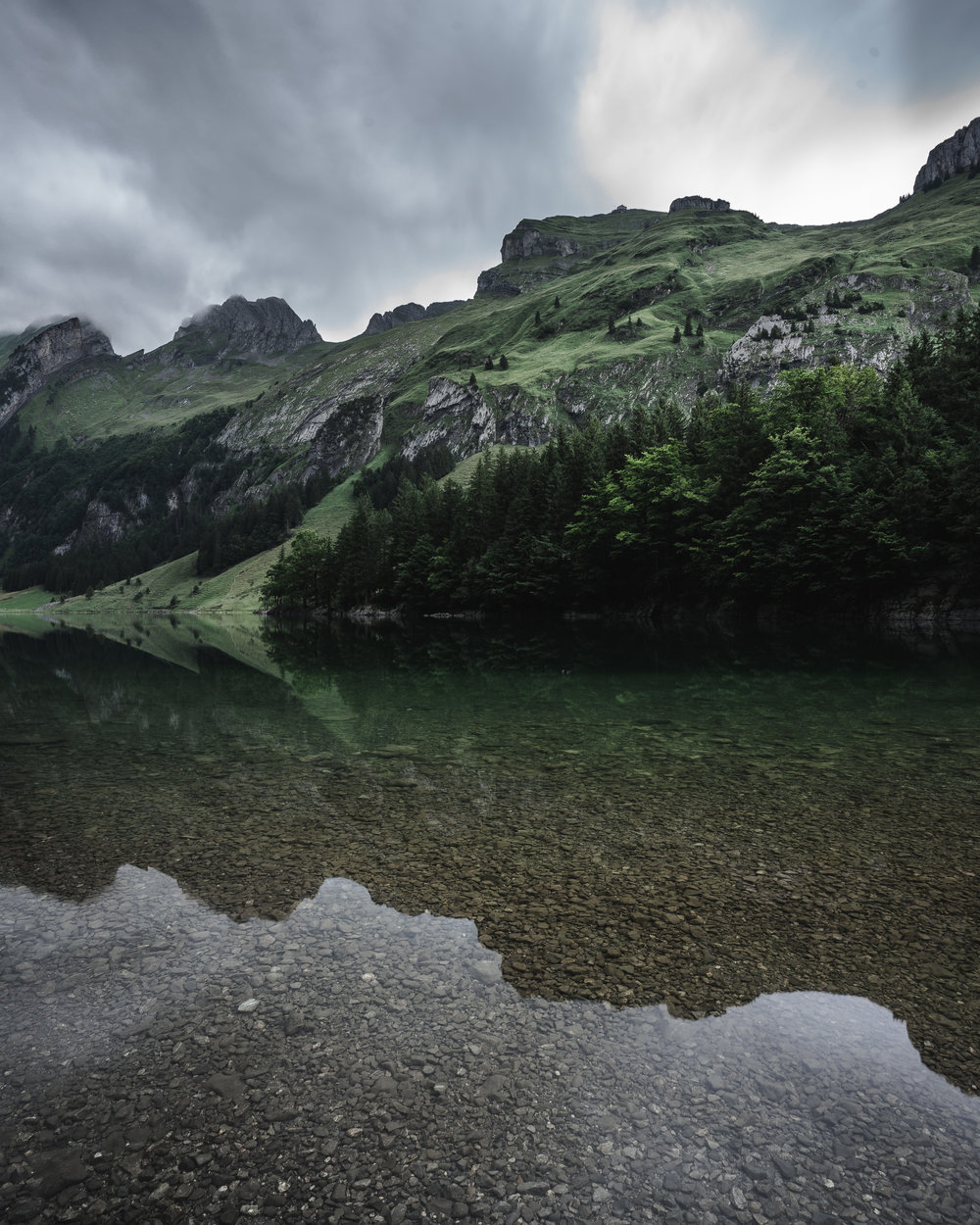 Surreal reflection game at Seelapsee - Switzerland ©drcapture