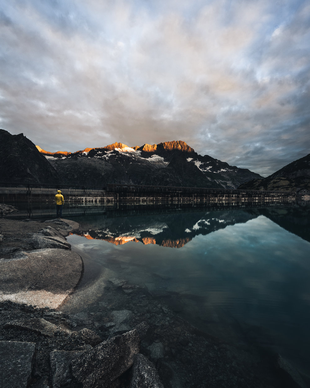 Glowing peaks at Gelmersee - Switzerland ©drcapture