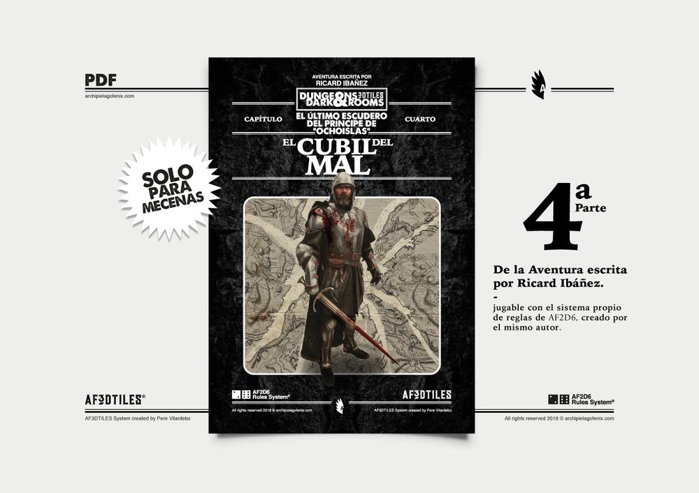 """- """"El Cubil del Mal"""". cuarta parte escrita por Ricard Ibáñez. (pdf)"""