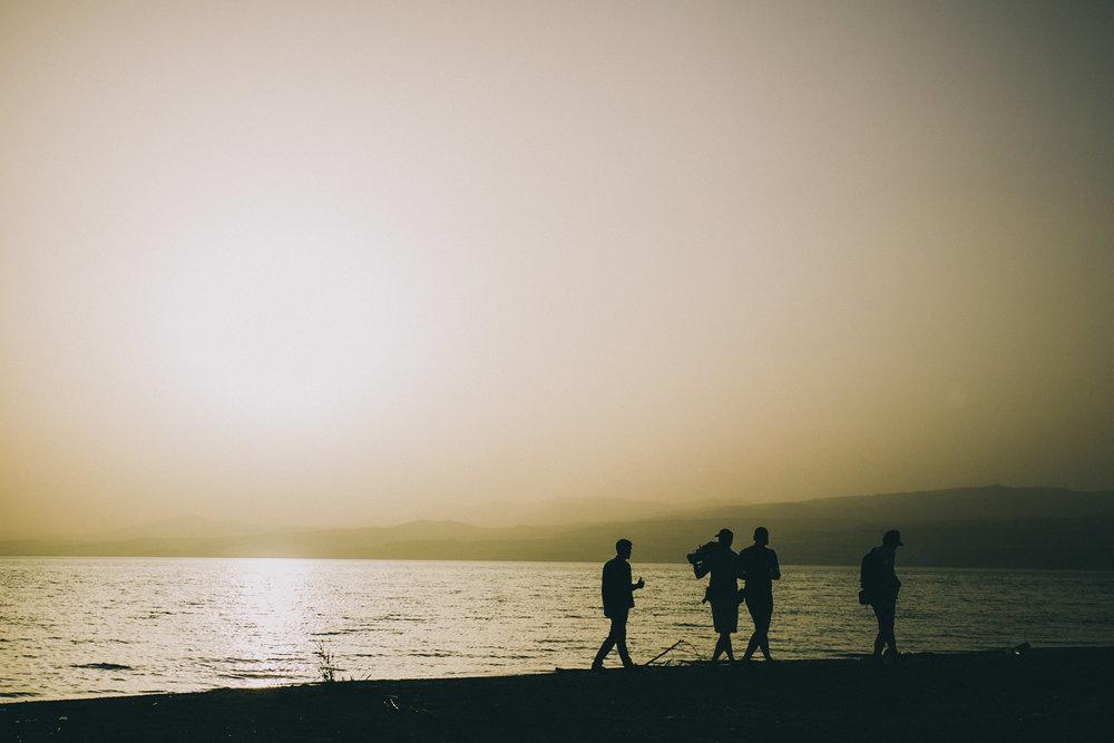 Our team filmed across Ireland, Israel and New York -