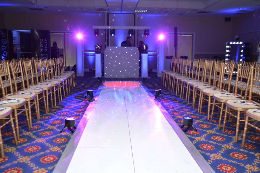 White LED Catwalk