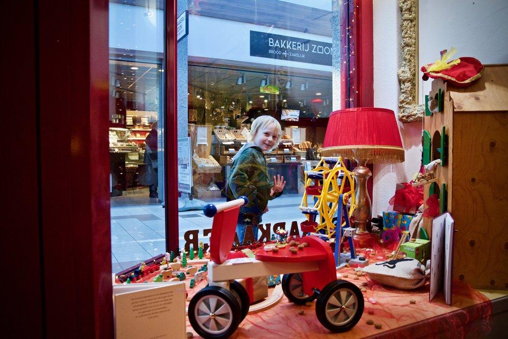 Slaapkamer van Sinterklaas Winkelhof 't Loo - Bedrijfsfotografie x STiP Fotografie