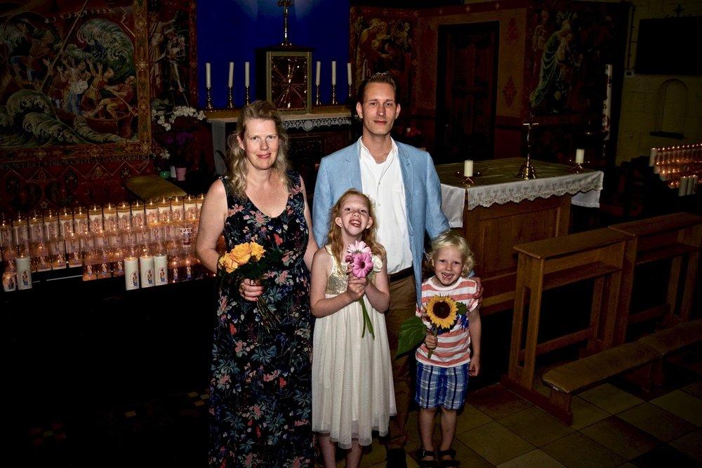 Gelukkige familie - Bruidsfotografie x STiP Fotografie