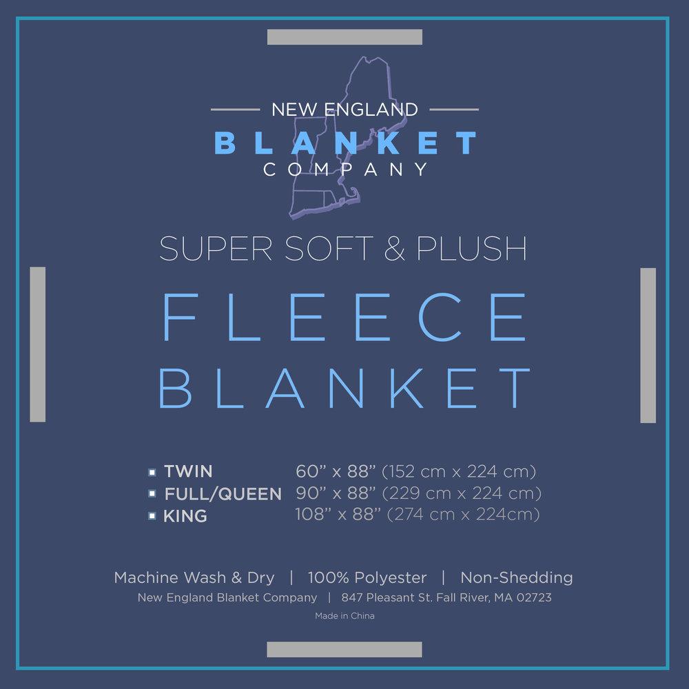 New England Blanket Company Ribbon Insert