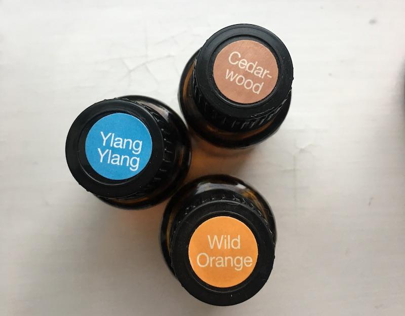 Essential oil blend Ylang Ylang Wild Orange Cedarwood.JPG