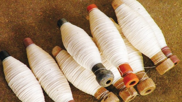 Khadi yarn. Image: cobrapost.com