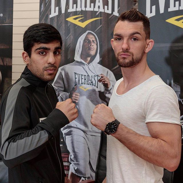 A week today! Bring it on 💪 'the Untouchable' Kash Farooq v Kyle Williams 🥊 at the Radisson Blu Hotel, Glasgow if you are not attending you can watch the fight on BBC Scotland 🏴 #FarooqWilliams #Bantamweight #BritishTitleFight #boxing #SASC #Everlast #Glasgow