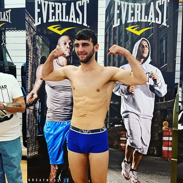 🥊🥊Are you ready for a nightmare? Nathaniel 'the Nightmare' Collins makes the weight. Tune in to the BBC Scotland website to watch the fight tomorrow from 10pm. #TeamNightmare #superfeatherweight #boxing #SASC