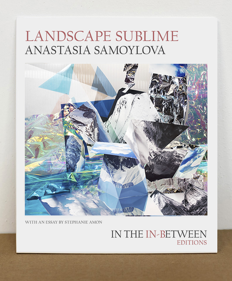 Landscape Sublime - Landscape Sublime is the debut book-work by Anastasia Samoylova, and the second volume of In the In-Between Editions, a limited edition book series that pairs exceptional photographic projects with essays by emerging arts writers.2016, In The In-Between Editions, 48 pages, 9.5 x 8 inches, 23 color images, perfect bound, edition of 200, signed and numberedAvailable for purchase on In the In-Between Editionsand Visual Studies Workshop Bookstore