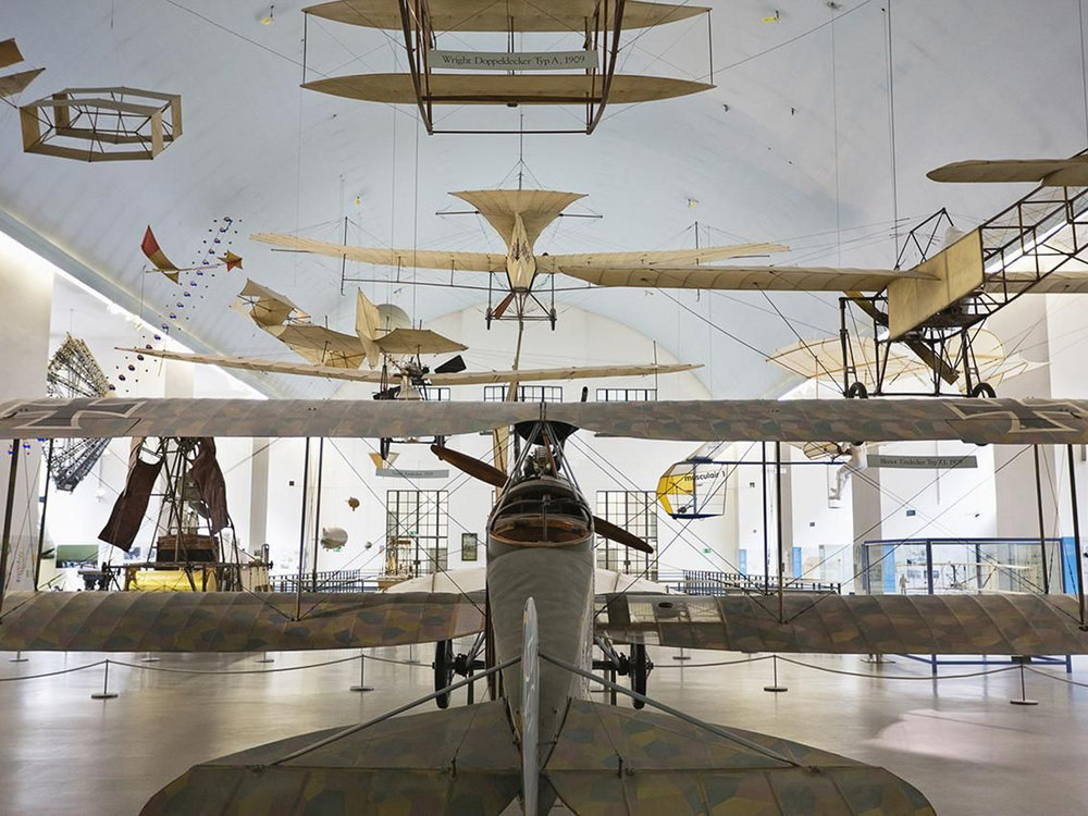 Exhibition on aeronautics