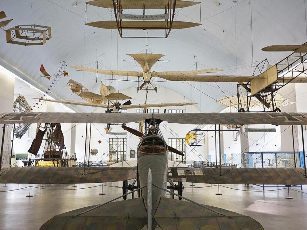 Exhibition on aeronautics