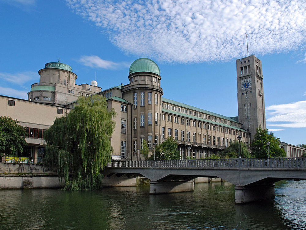 Deutsches Museum on the Museumsinsel