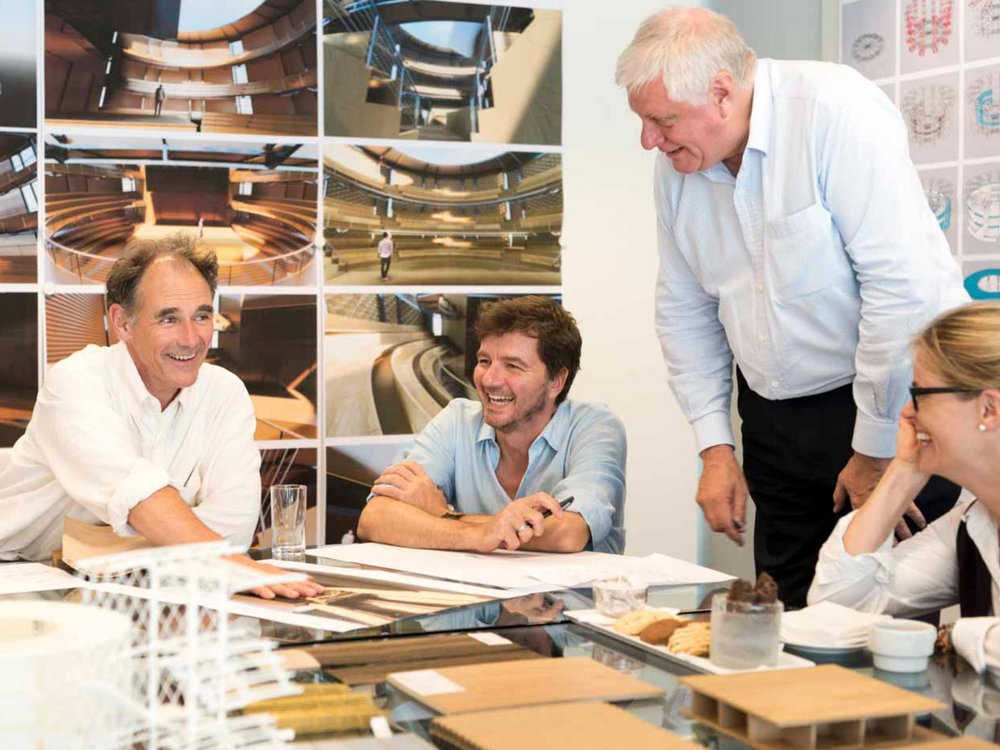 Architecture workshop at Foster + Partners with Mark Rylance