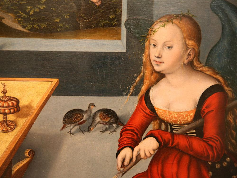 Mélancholie by Lucas Cranach