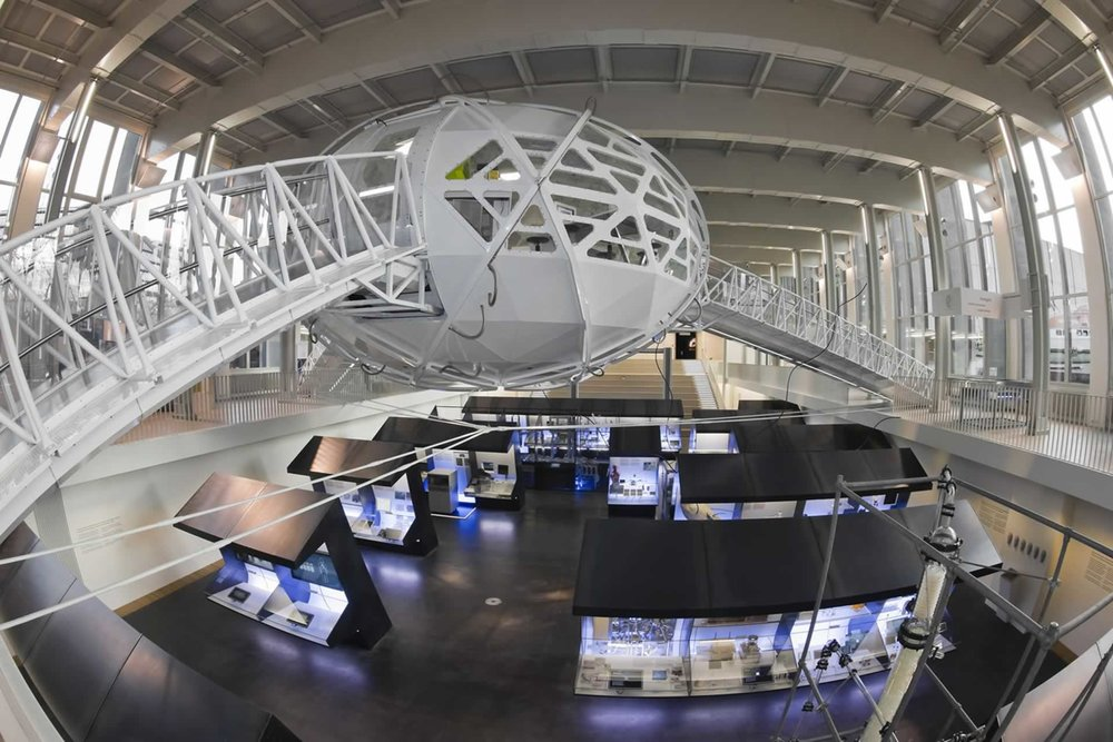 Exhibition on new technologies