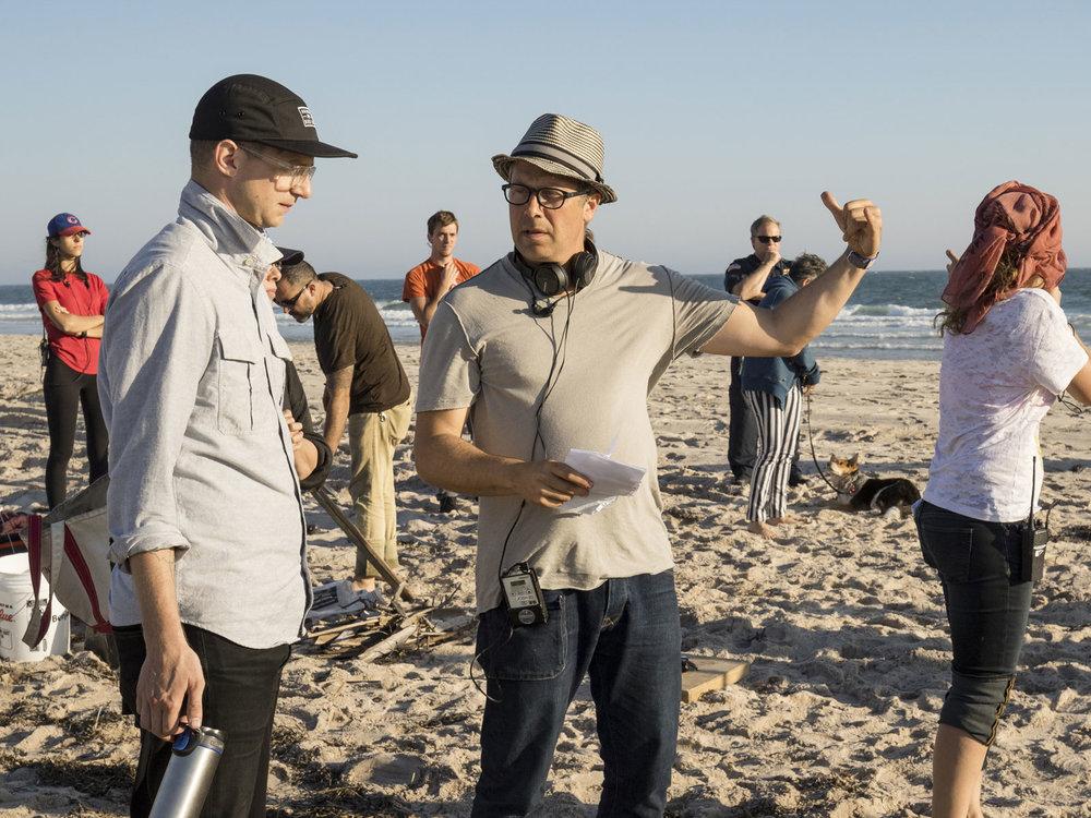 Director Josh Klausner with DP Brett Jutkiewicz