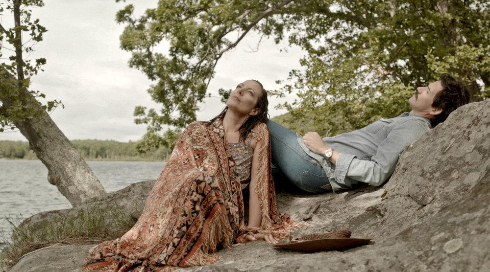 Allison Janney (Elizabeth) and Christian Camargo (Peter)