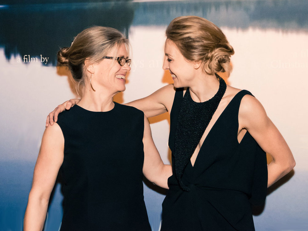 Producers Barbara Römer and Juliet Rylance