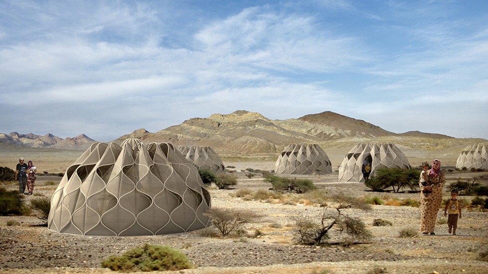 Abeer Seikaly's Lexus Design Award-winning  Weaving a Home  project ( Image )