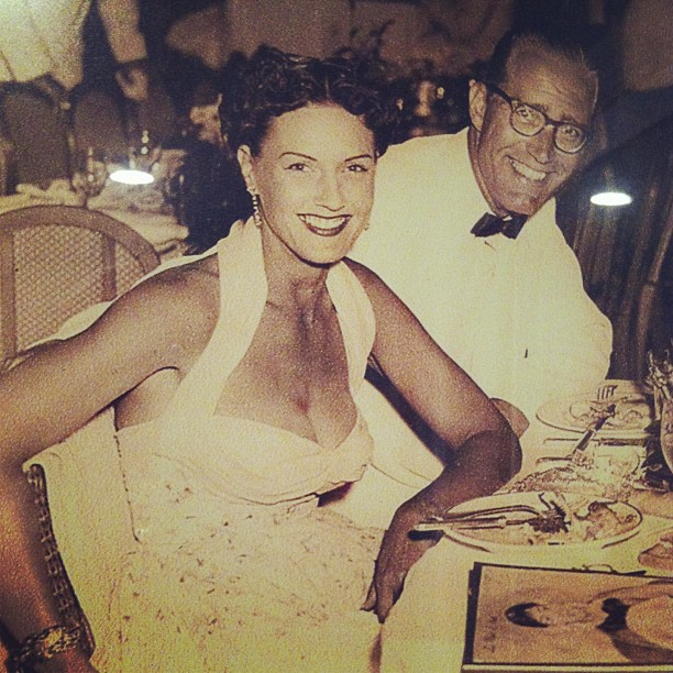 My great-grandparents at a black tie gala.