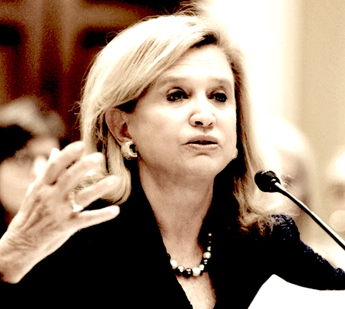 Maloney Muni Bond Buy Scandal  - In 2016, Rep. Carolyn Maloney co-authored a bill to encourage banks to buy government-backed bonds, and then bought up to $1.3 million such bonds in nearly two dozen transactions herself. The House passed Maloney's bill, which was cosponsored by Rep. Luke Messer (R- IN.), on Feb. 1, 2016. It awaits consideration by the Senate. Maloney's office insists that the purchases were coincidental and made by an investment adviser, and not Maloney, but an independent ethics watchdog called it suspicious.
