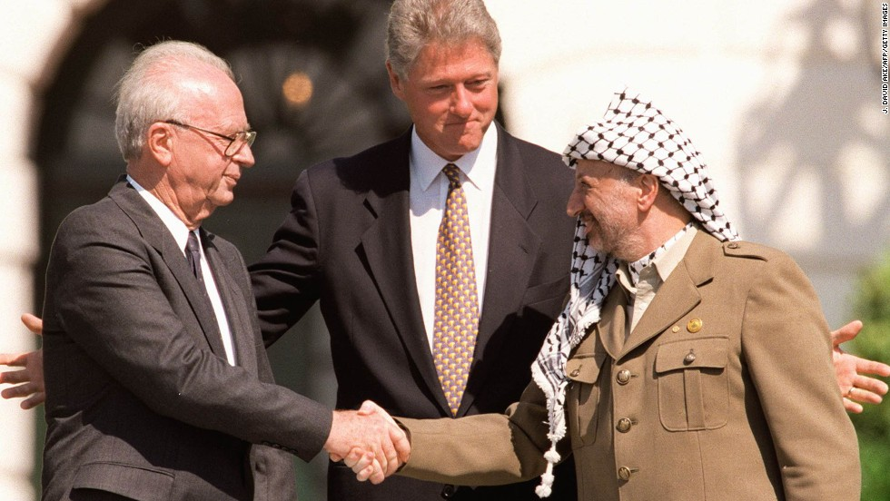 "Anyone remember when the Middle East had a ""Peace Process?"""