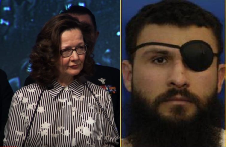 - Haspel and Zubaydah: the Torturer and the Tortured.