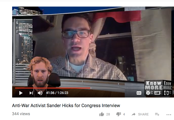 Know More News: In Depth Interview with Sander Hicks - Know More News did a fun interview with me -- hosted by Adam Green. Really cool format.