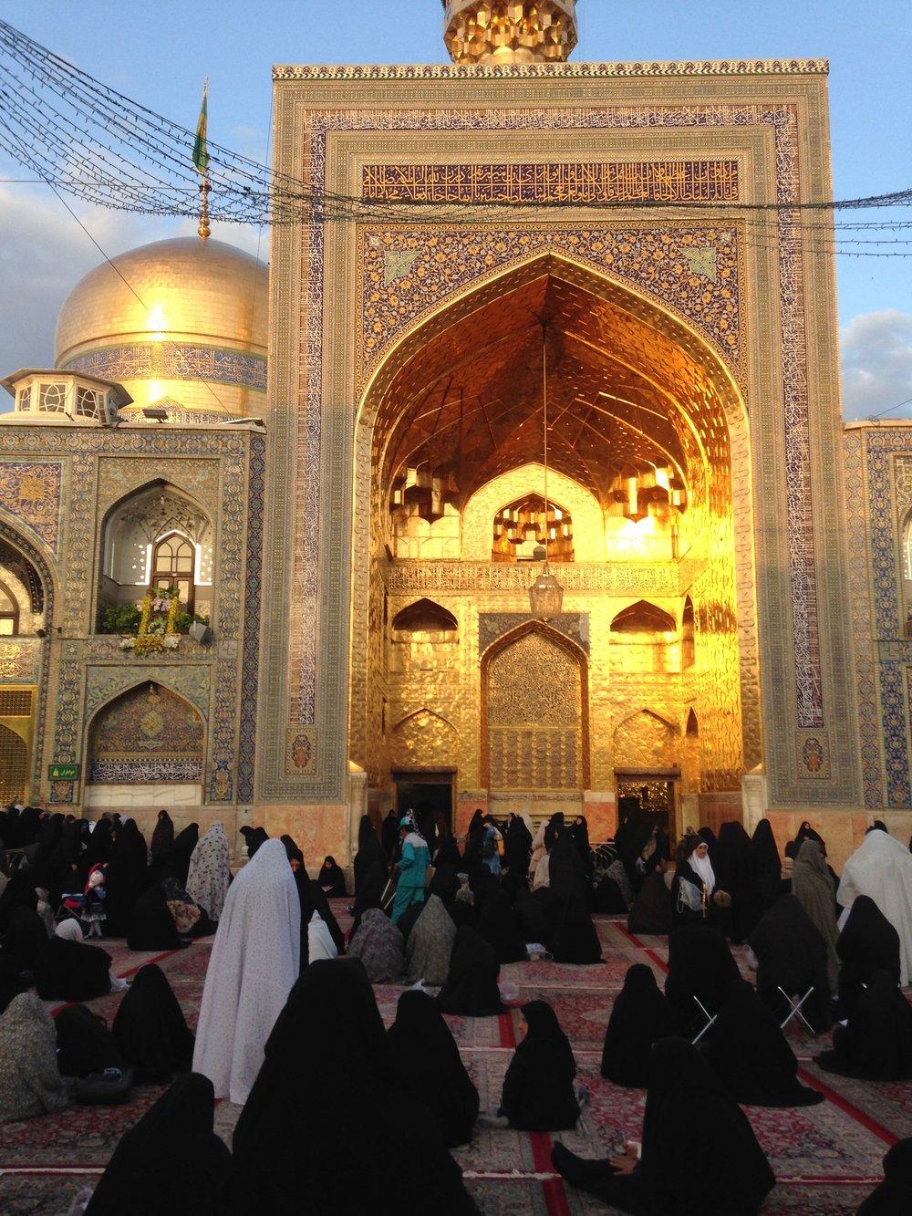 Shrine of Imam Reva DAWN shot GOLDEN.jpg