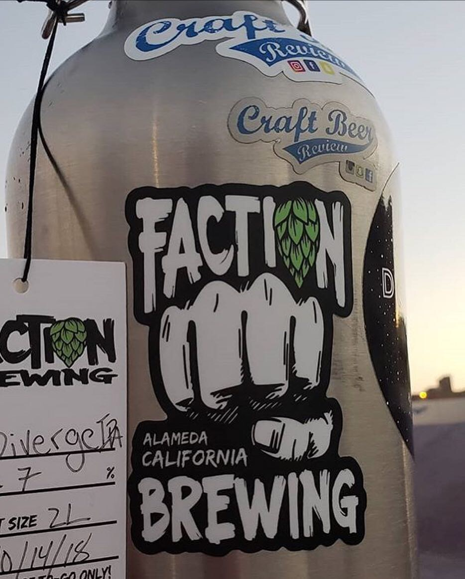 Faction Brewing , California - www.factionbrewing.com