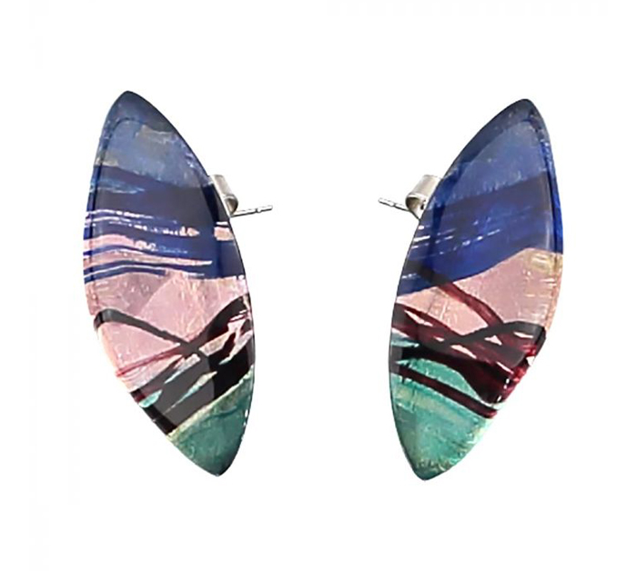 Barbara Rae Arctic Earrings Pierced