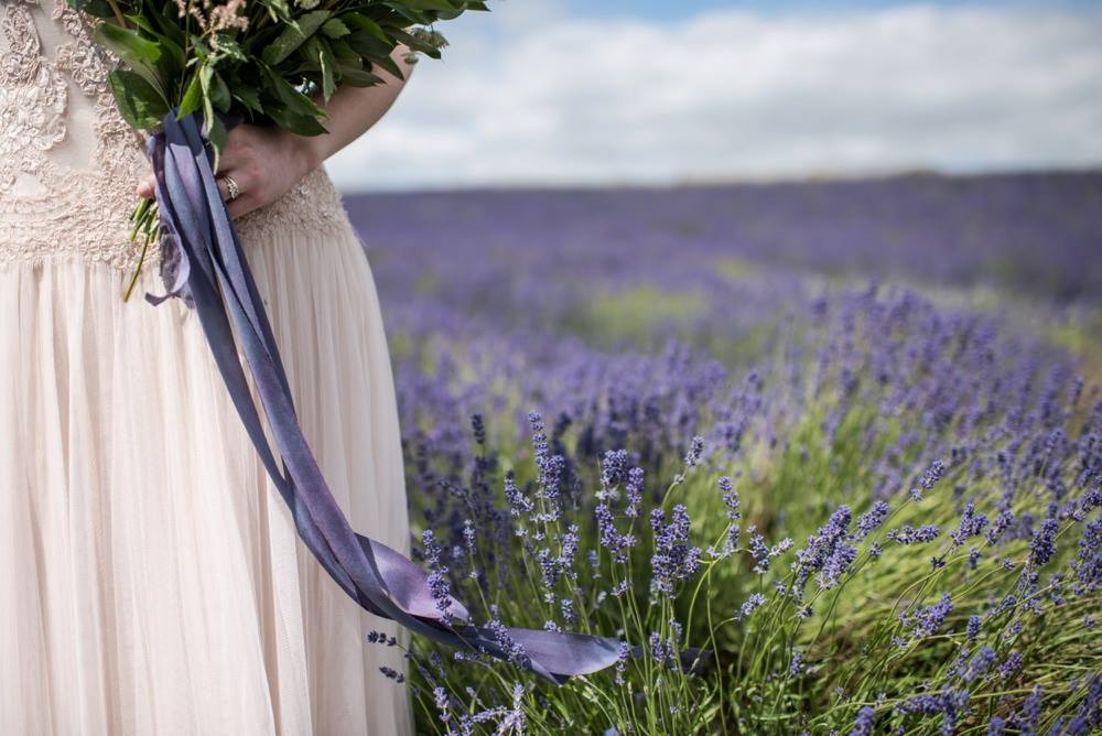 Pamella Dunn weddings - As a brand ambassador for Pamella Dunn, I've assisted weddings, consultations and photoshoots, including this stunning shoot at Cotswold Lavender which was featured in Belle Bride Magazine. Credit: Jane Beadnell Photography