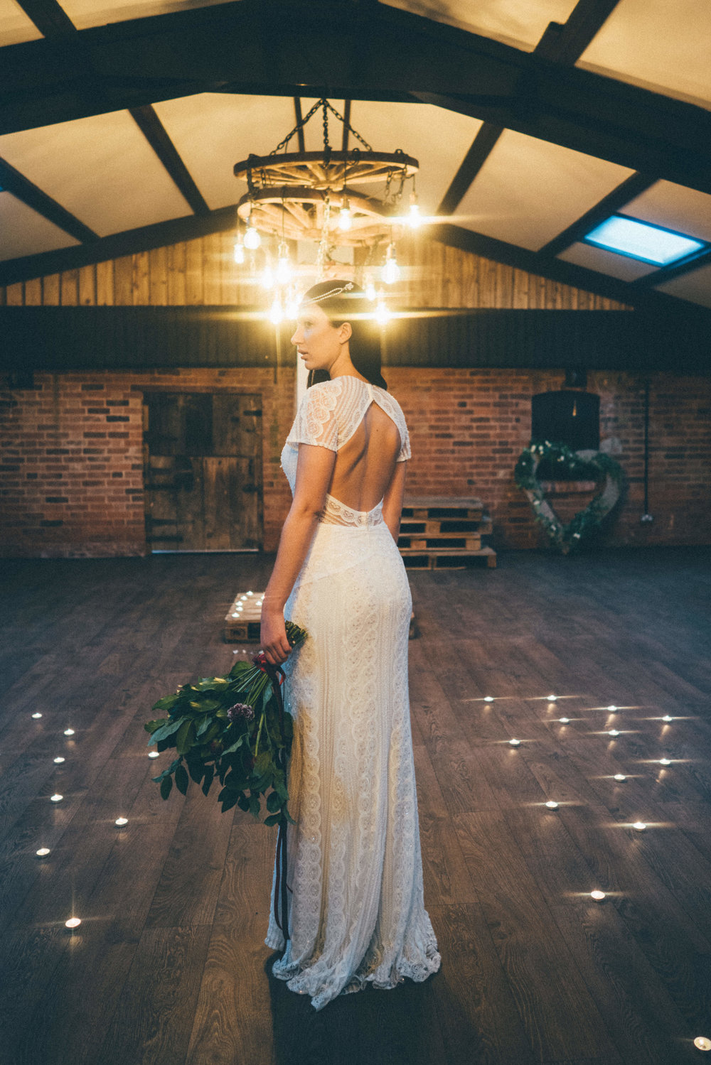 boho mystic glamour - I assisted in the coordination and execution of this stunning boho mystic glamour shot at Deighton Lodge, featured on Boho Weddings. Credit: Mr & Mrs Boutique Wedding Photography