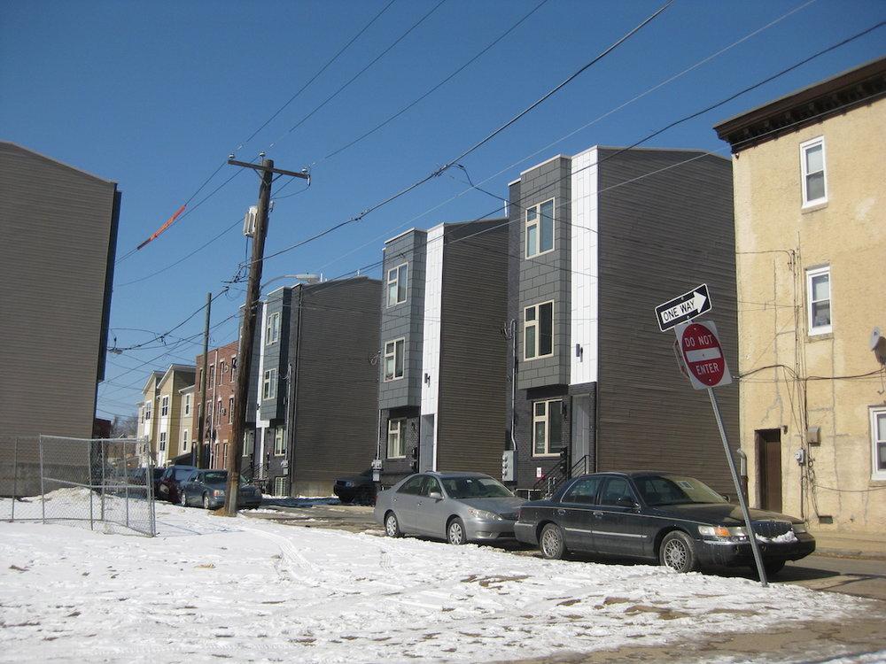 Around the corner, the 1600 block of Ogden Street