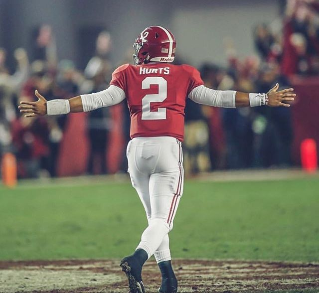 The Heart of a Champion #ROLLTIDEROLL @thefuture_____2 WATCH GOD WORK! This isn't for Alabama that was for JALEN! ❤️