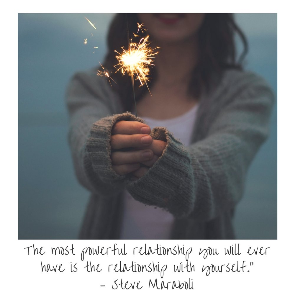 """The most powerful relationship you will ever have is the relationship with yourself."""" – Steve Maraboli.jpg"""