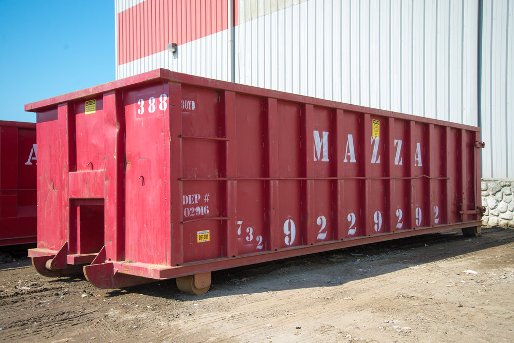 30 Yard Container - 22 ft. x 8 ft. x 6 ft. -  30 cubic yards