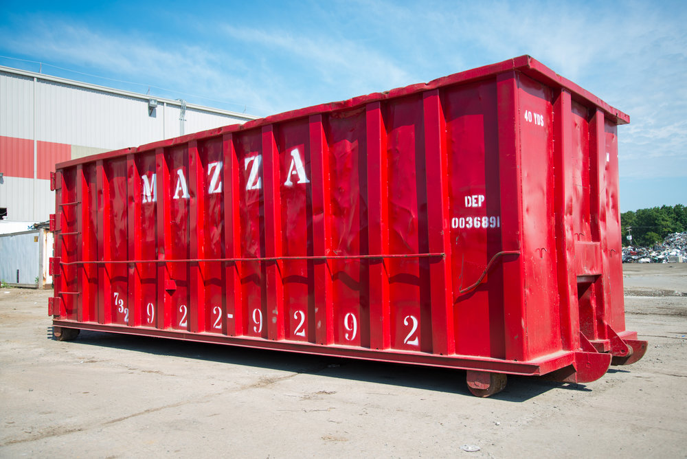 40 Yard Container - 22 ft. x 8 ft. x 8 ft. - 40 cubic yards