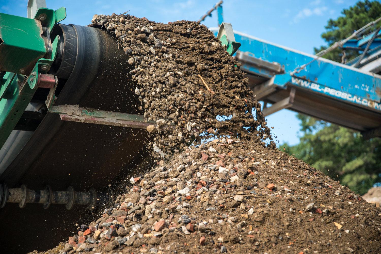 Concrete Recycling Mazza Recycling Services