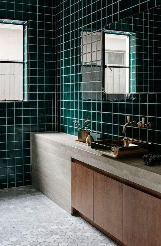 darkgreen-bathroom-greentiles-tiles