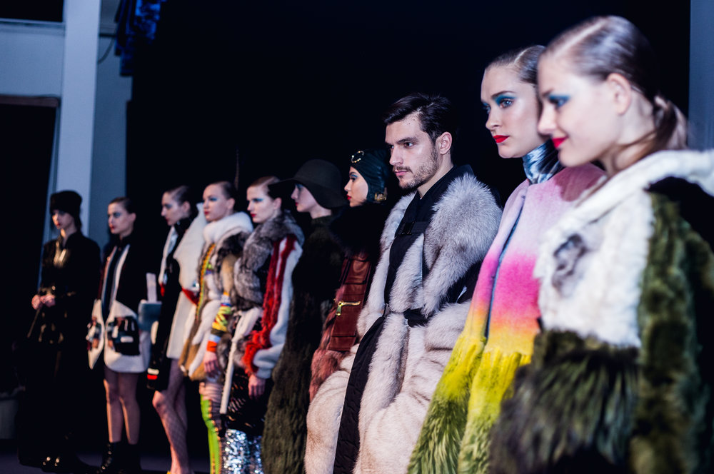The full fur pieces from all of the finalists