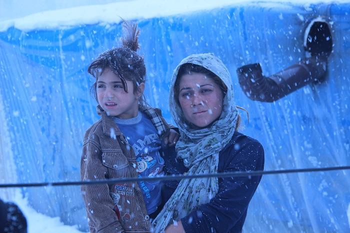 Give Syriens børnene 5 tæpper: 220 kr.-
