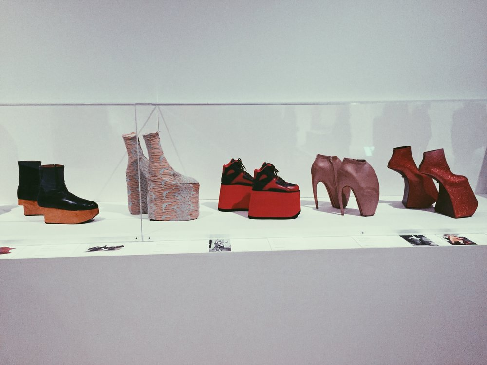 The shoe collection