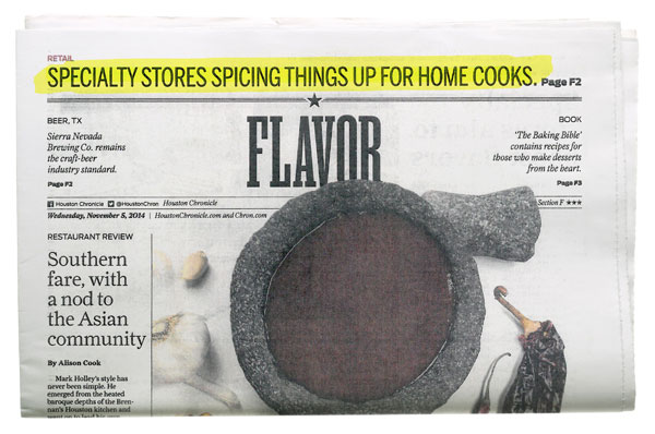 Houston Chronicle - Specialty Stores Spicing Things Up for Home Cooks